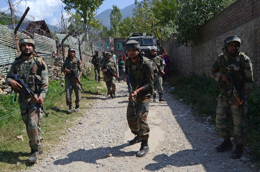 One terrorist of LeT gunned down by security forces in J&K's Baramulla
