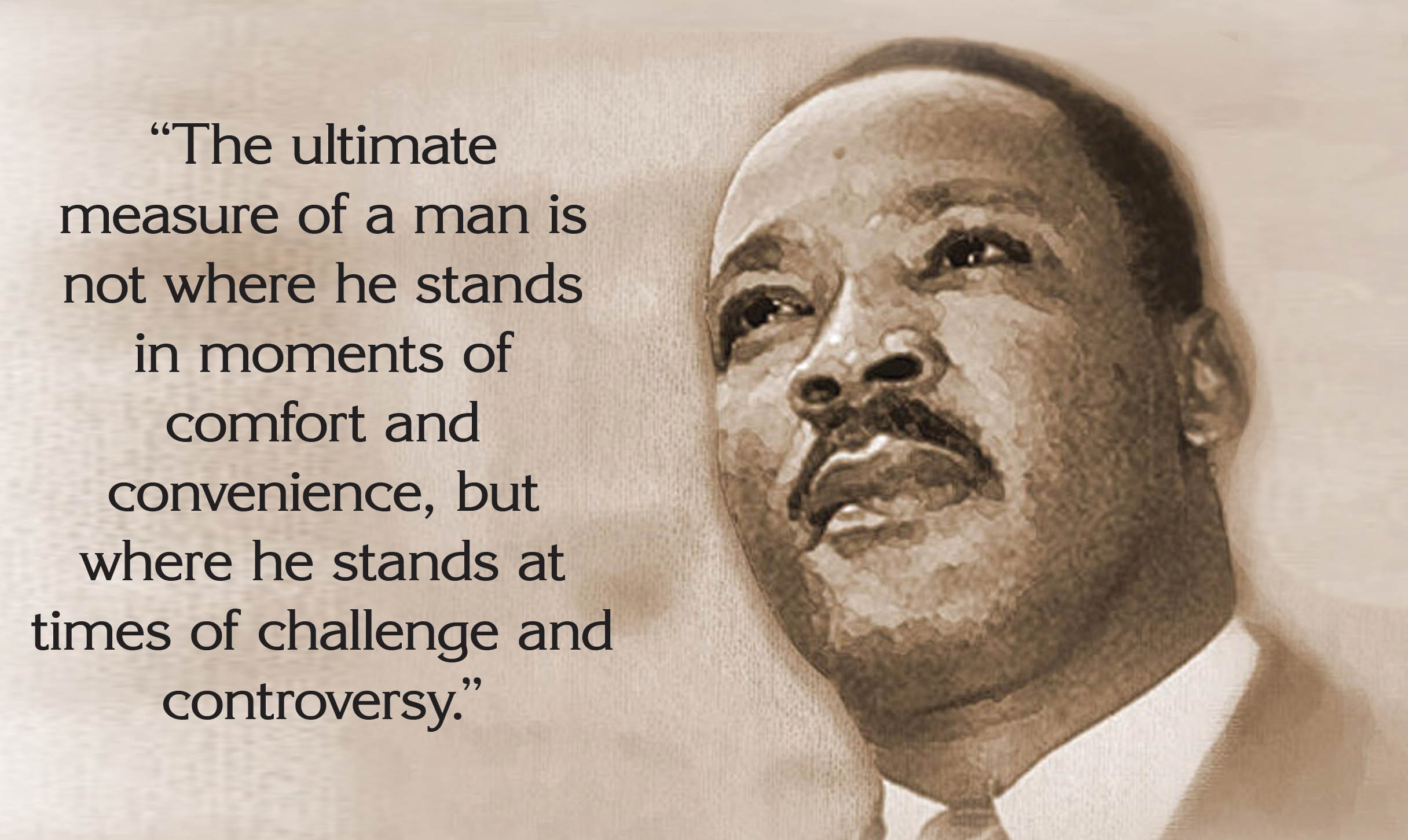 Happy Birthday Dr Martin Luther King Quotes ~ Happy martin luther king jr day quotes slogans