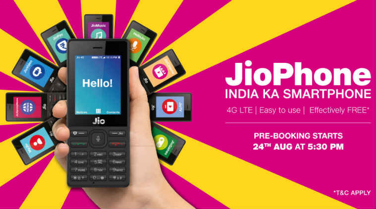 Reliance JioPhone pre-booking to begin today - Everything you must know