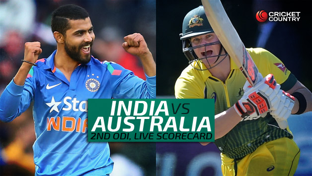 Aus Vs Ind 2nd Odi Live Cricket Score Streaming Ball By Ball