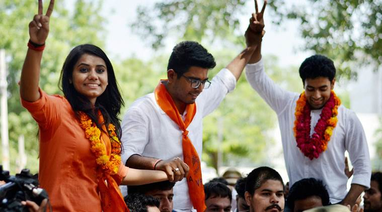 DUSU Election 2017: NSUI Wins 3 Top Posts, ABVP Faces Setback