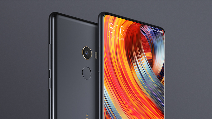 Xiaomi unveils the flagship Mi Mix 2 smartphone