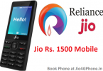 JioPhone booking will start soon after Diwali