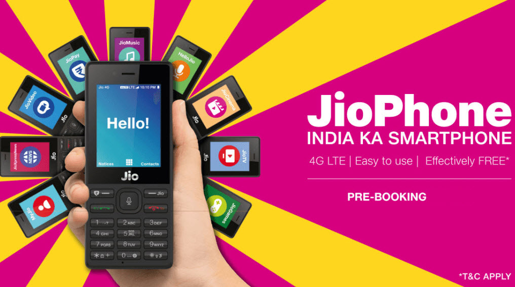 Jio Phone Booking again