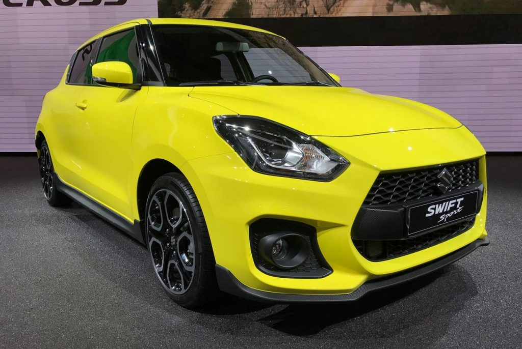 india maruti suzuki swift sport 2018 swift hybrid likely. Black Bedroom Furniture Sets. Home Design Ideas