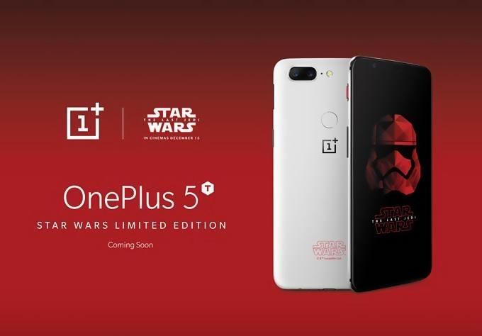 OnePlus 5T Star Wars Edition announced at Comic Con India
