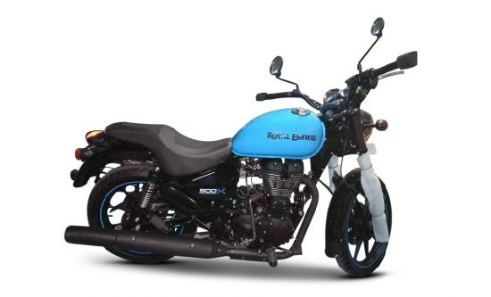 Royal Enfield Thunderbird 350X Spied At A Dealership Ahead Of Launch