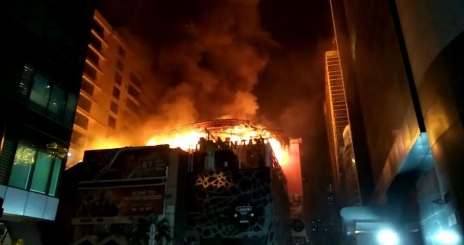 Fire Breaks Out At Mumbai's Cinevista Studio