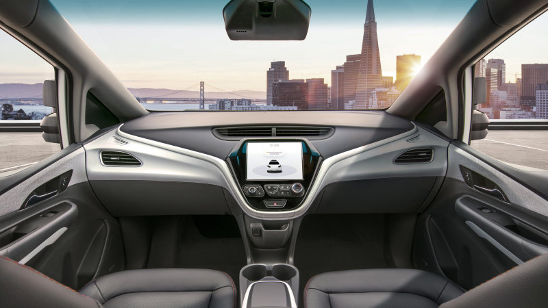 General Motors drops steering wheel, gives robot driver control