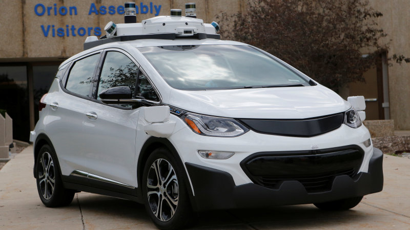 No pedal to metal in GM's planned self-driving vehicle