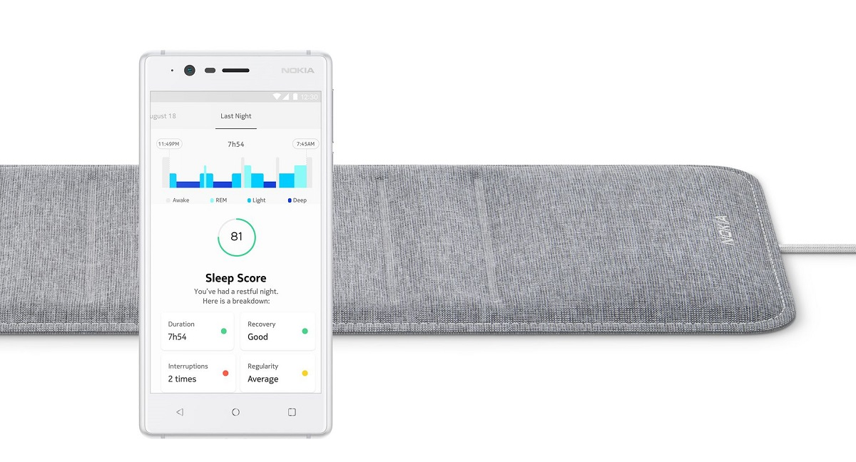 Nokia Sleep nestles under your mattress to help you get more ZZZs