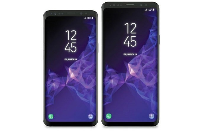 Samsung Galaxy S9 & Galaxy S9 Plus Design Outed by Case
