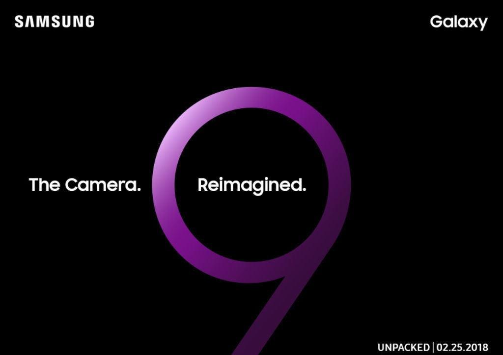 Mark your calendars: Samsung preps for Galaxy S9 launch