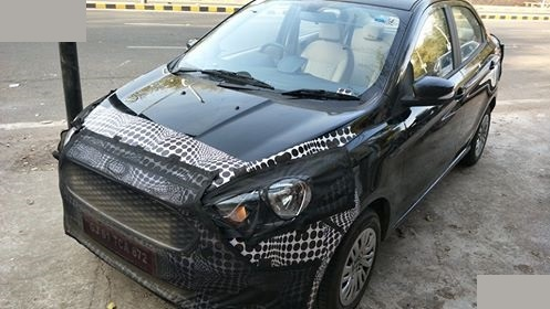 Ford Aspire 2018 Facelift
