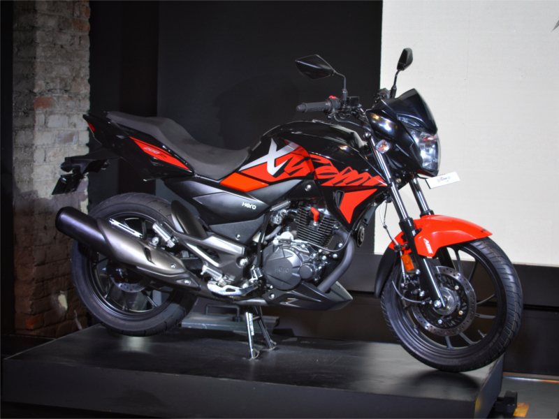 New Hero Xtreme 200r Bike Set To Unveil At Auto Expo