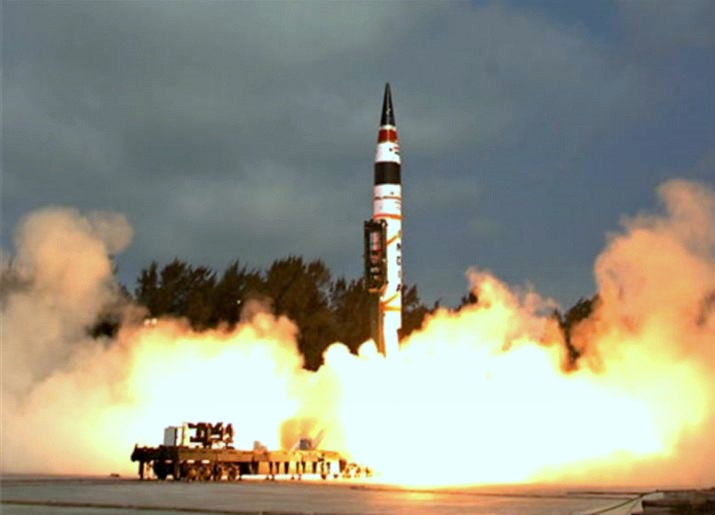 India Tests Nuclear-Capable Agni-I Ballistic Missile, Developed Domestically