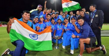 India Won U-19 World Cup Finals against Australia by 8 Wickets