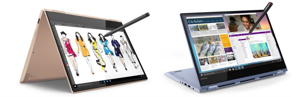 Lenovo Yoga 730 & Yoga 530 Features