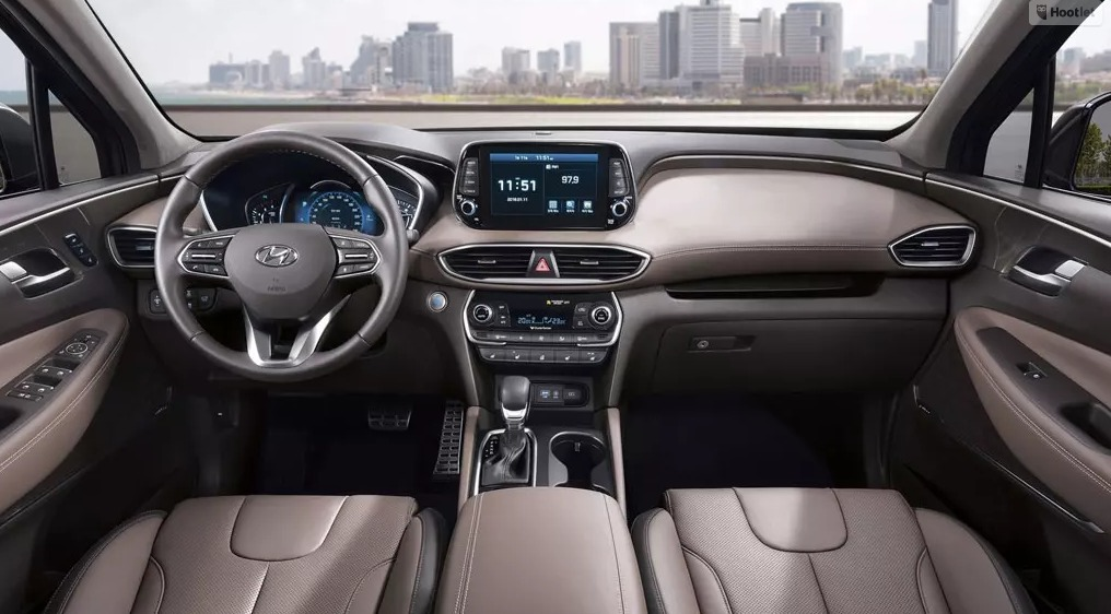 New Hyundai Santa Fe 2018 Interior