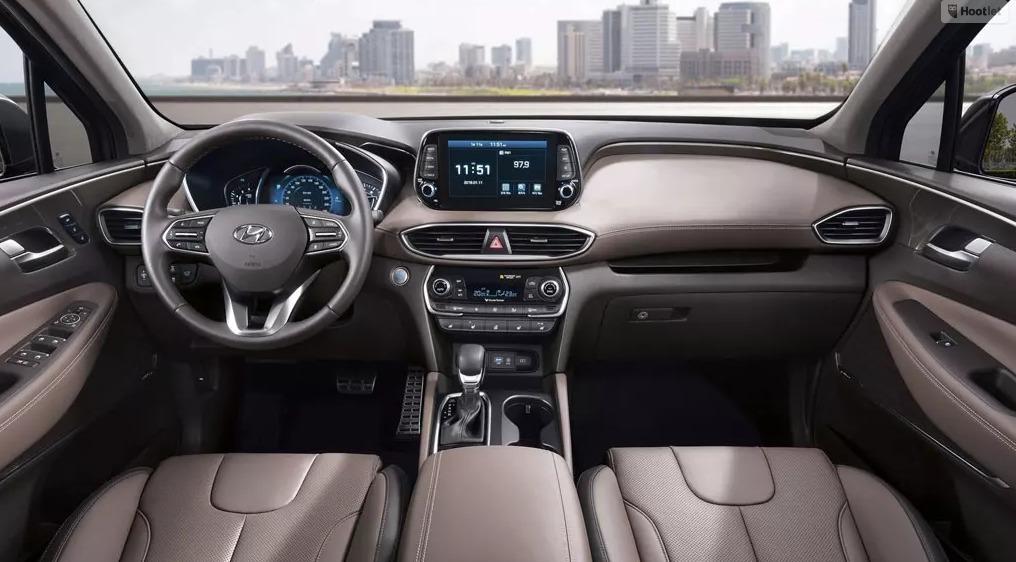 New Hyundai Santa Fe 2018 Interior
