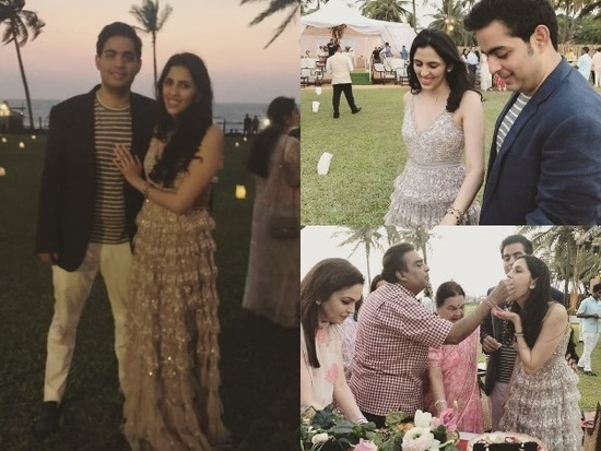 Mukesh Ambani's Son Akash Ambani Gets Engaged To Shloka Mehta
