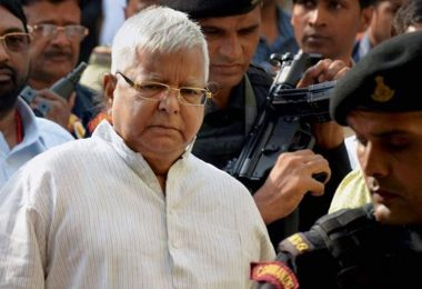 4th Fodder Scam Case: Lalu Prasad Sentenced to 14 Years in Jail and Fined Rs 60 lakh