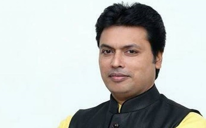 BJP Announced Biplab Kumar Deb as Next Tripura Chief Minister