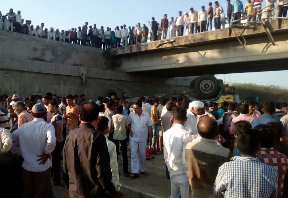26 wedding guests killed in truck accident in western India