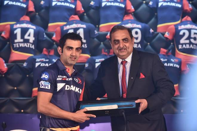 Gautam Gambhir is Elected as New captain for Delhi Daredevils
