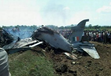 An Indian Air Force (IAF) Hawk advanced trainer jet crashed Tuesday in Odisha's Mayurbhanj district near the Jharkhand border.