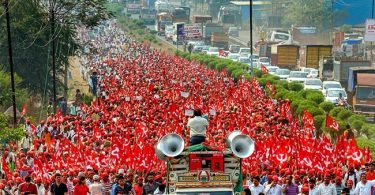 Mumbai Farmer Long March