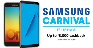 Samsung Carnival March 5 to 8 2018