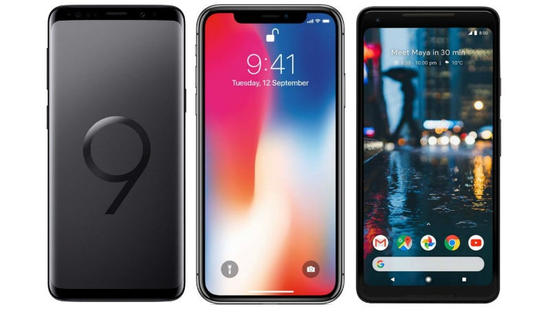 Samsung Galaxy S9+ Vs. Apple iPhone X vs. Google Pixel XL; Price, Specs, Features