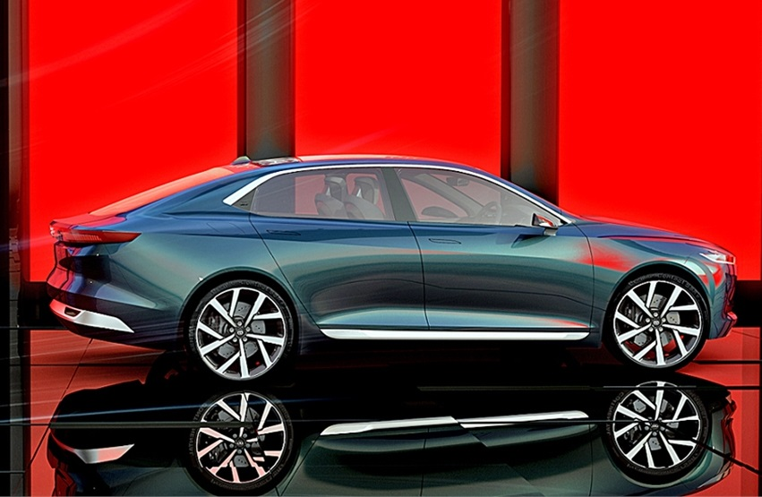 Tata E-Vision Electric Sedan Features