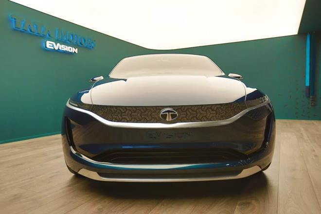 Tata E-Vision Electric Sedan