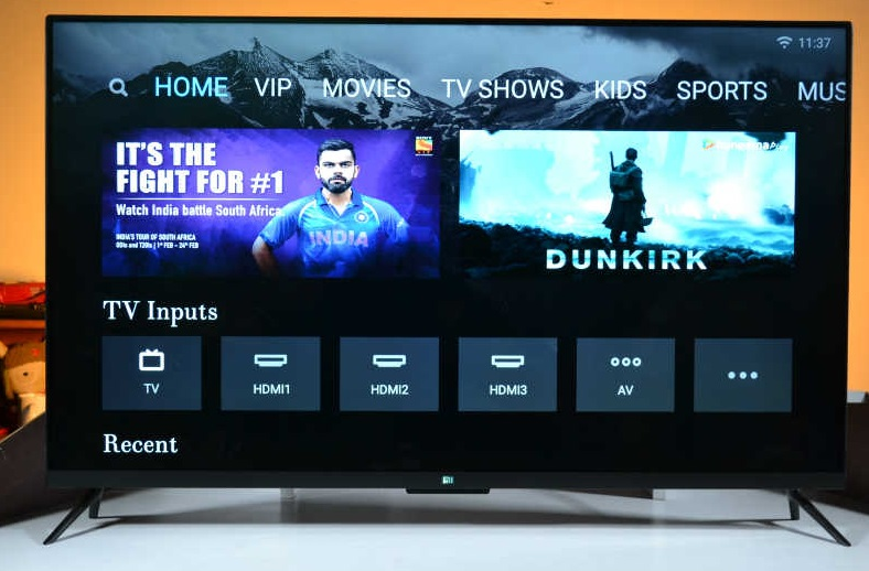 Xiaomi Mi TV 4 Features