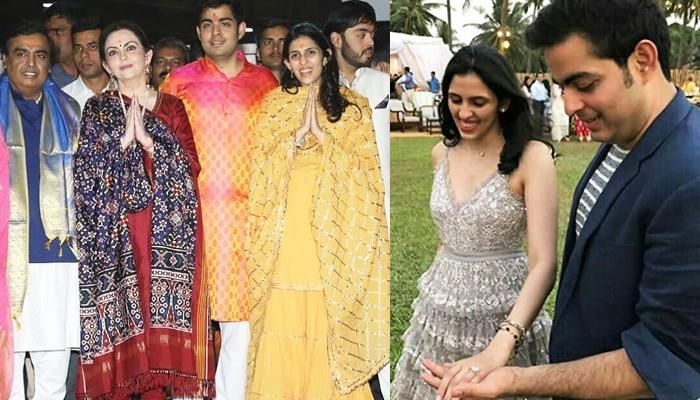 Bollywood stars arrive at Ambani residence to congratulate Akash, Shloka