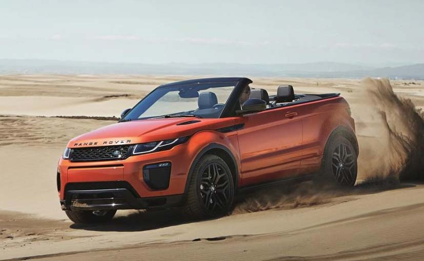 Range Rover Evoque Convertible Launched In India, Priced At ₹ 69.53 Lakh