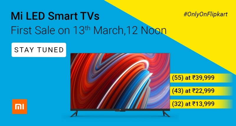 mi-tv-sale-flipkart-online-india