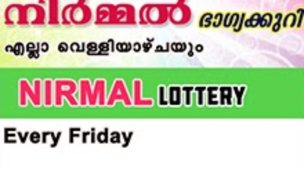 Live: Nirmal Lottery NR 133 Results 09-08-2019 Kerala Lottery Result