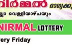 Live: Nirmal Lottery NR 67 Results 04-5-2018 Kerala Lottery Result Today