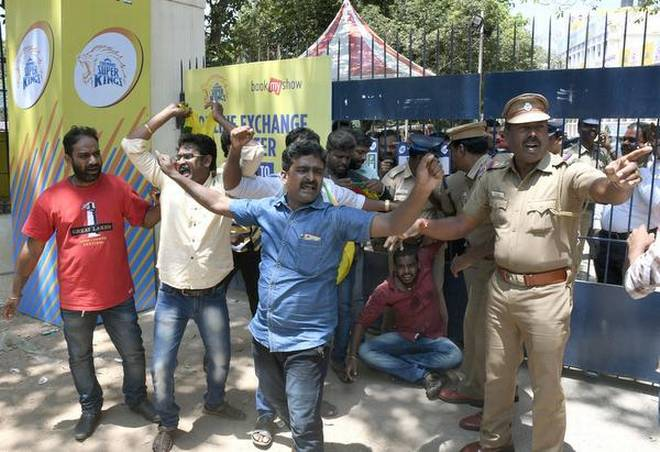 Cauvery Issue: 4,000 Cops Shielded Chennai IPL venue, few protesters arrested