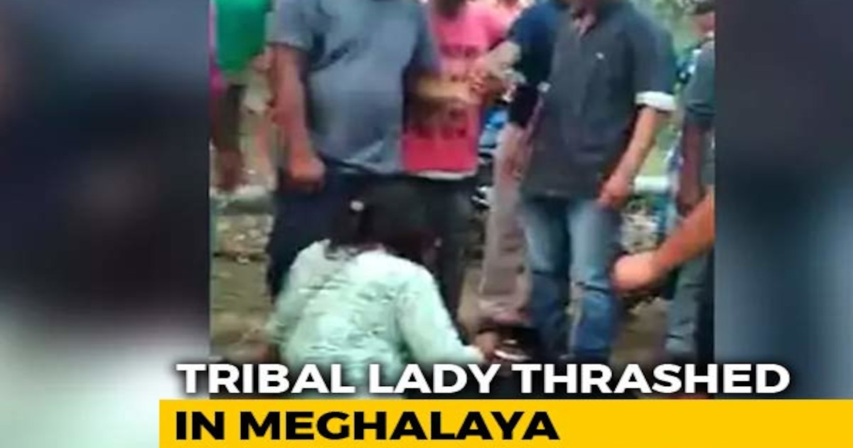 Woman Kicked, Punched In Meghalaya By A Group Of Men