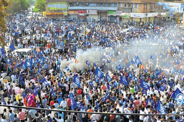 "Several Dalit organisations have called for a 'bandh' on Monday expressing concerns over the alleged ""dilution"" of SCs/STs (Prevention of Atrocities)"