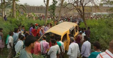 Kushinagar accident updates: 13 children killed in bus-train collision in Uttar Pradesh