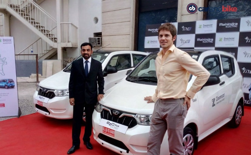 Mahindra e2oPlus Electric Vehicles Now available on rent in Delhi