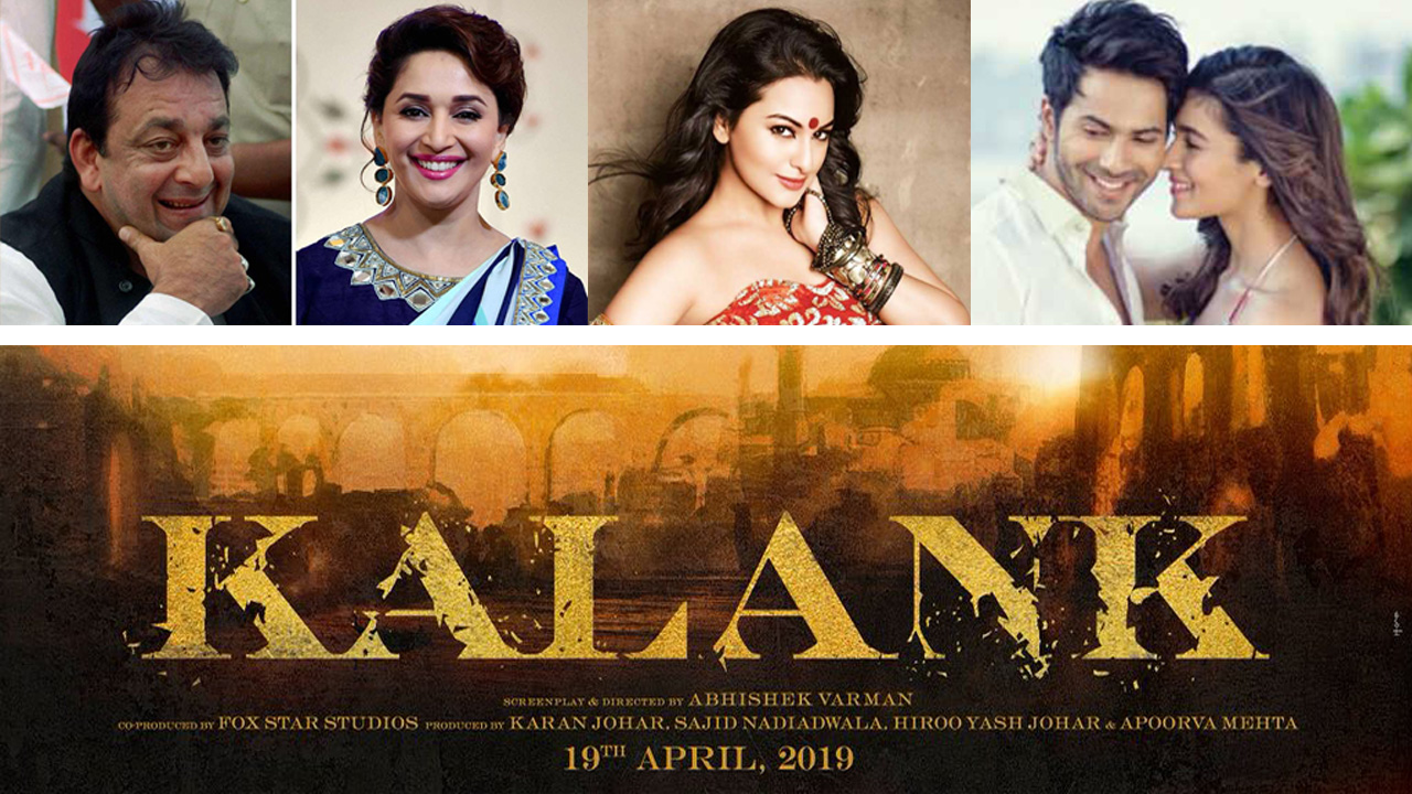 Madhuri Dixit- Sanjay Dutt will work together in Kalank, with Alia Bhatt, Varun Dhawan