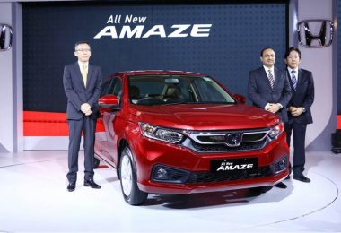 New Honda Amaze 2018 Launched in India, Get Price, Features & Specification