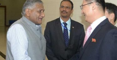 VK Singh is first Indian minister to visit North Korea in 20 years even as Pyongyang reconsiders meeting US on June 12