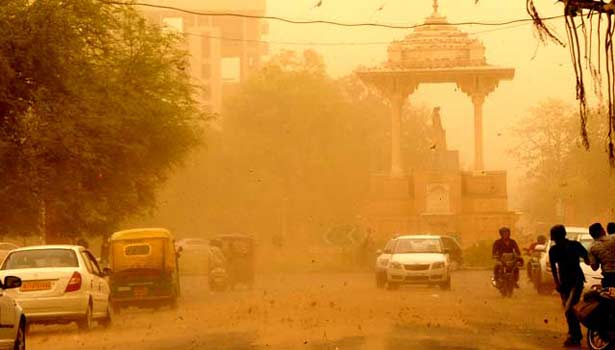 More than 100 killed as powerful dust storm leaves trail of destruction in north India